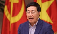 팜 빈 민 부총리, 미 – 조 정상회담 개최준비 회의 주재