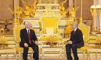 응우옌 푸 쫑 서기장-국가주석, 캄보디아 국빈 방문 성공리 마무리