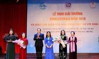 여성 과학자 응우옌 티 란 (Nguyễn Thị Lan) 교수, 2018 년 코발레프스카야상 수상