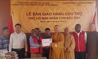 베트남 중앙불교회, 모잠비크 이다이 태풍 피해자 구조 지원