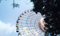 하노이 서호 물놀이 공원, 여름맞이 가족들의 이상적 물놀이 공간