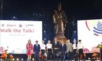 """응우옌 쑤언 푹 정부총리, 지속가능한 패션행사 """"Walk the Talk""""참석"""