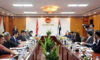 베트남 – 아랍 에미리트 기업포럼 진행