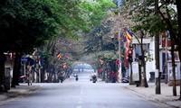 하노이의 오락시설, 긴 연휴 채비 중