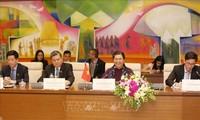 통티퐁 (Tòng Thị Phóng) 국회상임부의장, 라오스 국회부의장과 회담