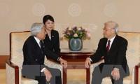 응우옌 푸 쫑 베트남 서기장-국가주석, 아키히토 일본 상황에게 서한 보내