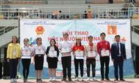 재한 베트남인 공동체의 체육 대회가 흥미진진하게 열렸다