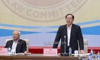 국회상임위원회, 공공투자법의 일부 보충, 개정법 사업에 관한 토론