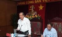쯔엉 화 빈 상임부총리, 박깐성 지도자들과의 만남