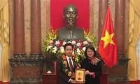 Phó Chủ tịch nước Đặng Thị Ngọc Thịnh: Tương lai đất nước nằm trên vai thế hệ trẻ