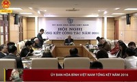 Ủy ban Hòa bình Việt Nam triển khai nhiệm vụ năm 2017