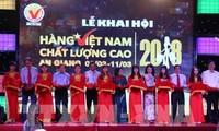 Khai mạc Hội chợ hàng Việt Nam chất lượng cao tại An Giang