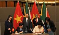 Nam Phi - Việt Nam tăng cường quan hệ thương mại song phương