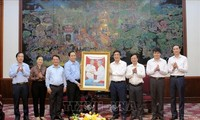 Ủy ban Trung ương MTTQ Việt Nam làm việc tại Phú Thọ