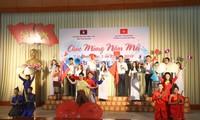 Tổ chức đón Tết Bunpimay cho lưu học sinh Lào