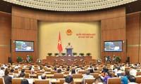 Quốc hội thảo luận về 3 dự án luật liên quan bộ máy chính quyền các cấp
