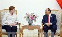 Thủ tướng Nguyễn Xuân Phúc tiếp Bộ trưởng Ngoại giao Australia Marise Payne