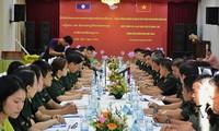 Tăng cường hợp tác thanh niên quân đội Việt Nam - Lào