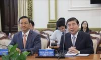 Chủ tịch Ủy ban nhân dân Thành phố Hồ Chí Minh làm việc với đoàn Đại sứ các nước EU