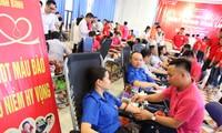 """Hành trình đỏ: Ngày hội hiến máu """"Giọt hồng Hoa Lư"""" năm 2019"""