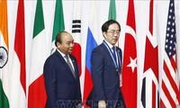 Thủ tướng Nguyễn Xuân Phúc tham dự các sự kiện trong khuôn khổ Hội nghị thượng đỉnh G20
