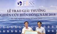 """Trao """"Giải thưởng Nghiên cứu Biển Đông năm 2018"""""""