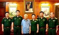 Nhân Ngày Thương binh Liệt sỹ 27/7: Đại tướng Lương Cường thăm các vị nguyên lãnh đạo Đảng, Nhà nước