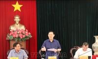 Phó Thủ tướng Chính phủ Vương Đình Huệ làm việc tại tỉnh Phú Yên