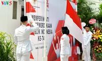 Người dân Indonesia tại Hà Nội kỷ niệm 74 năm Quốc khánh Indonesia