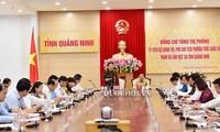 Phó Chủ tịch Thường trực Quốc hội Tòng Thị Phóng làm việc tại Quảng NInh