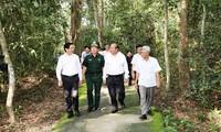 Phó Thủ tướng Trương Hòa Bình thăm, làm việc tại tỉnh Tây Ninh