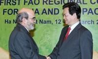Perdana Menteri VN Nguyen Tan Dung menerima Dirjen FAO Jose Graziano da Silva