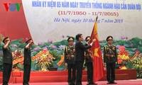 Presiden Negara menghadiri Upacara peringatan ultah ke- 65 Hari  tradisi Instansi Logistik Militer