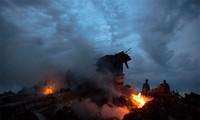 Малайзийский самолет упал на востоке Украины