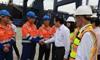 Президент СРВ Чыонг Тан Шанг посетил провинцию Куангнинь