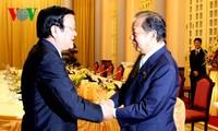 Президент СРВ принял главу комиссии по бюджетным вопросам нижней палаты японского парламента