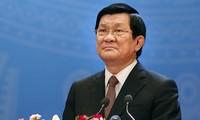 Президент СРВ Чыонг Тан Шанг примет участие в саммите стран Азии и Африки