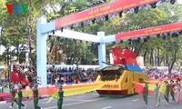 В г.Хошимине прошла генеральная репетиция парада ко Дню победы
