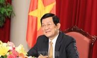 Президент Вьетнама поздравил австрийского коллегу с Днём независимости страны