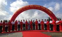 Премьер Вьетнама принял участие в церемонии введения в эксплуатацию моста в провинции Камау