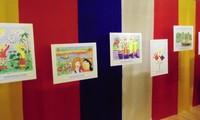 Выставка детских рисунков «Я рисую Россию - Я рисую Вьетнам»