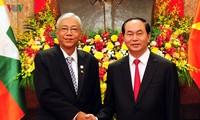 Президенты Вьетнама и Мьянмы провели переговоры