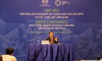 Участники SOM1 одобрили 4 предложенных Вьетнамом приоритета сотрудничества АТЭС