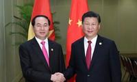 Поднятие вьетнамо-китайских отношений на новый уровень