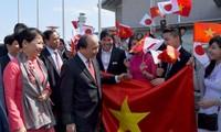 Премьер Вьетнама прибыл в Токио, начав официальный визит в Японию