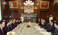 Премьер Вьетнама встретился с председателем Палаты советников парламента Японии
