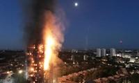 Пожар в жилом доме в Лондоне: информации о пострадавших гражданах СРВ нет