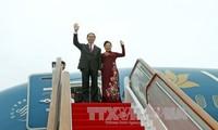 Президент Вьетнама посетит Россию и Беларусь с официальными визитами