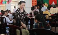 Спикер вьетнамского парламента встретилась с избирателями страны