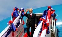 Генсек ЦК КПВ Нгуен Фу Чонг отправился в Камбоджу с государственным визитом